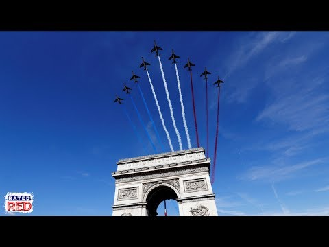American Troops Lead French Bastille Day Parade for First Time Ever Mp3