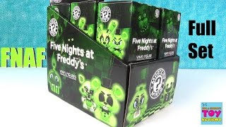 Five Nights At Freddys Glow In The Dark Funko Mystery Minis Figures GITD | PSToyReviews