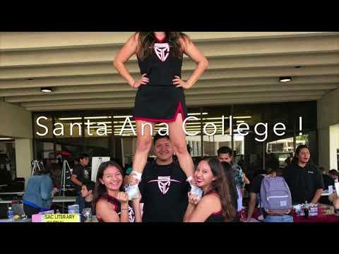 Santa Ana College NCA Cheer Camp 2017