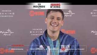 Danny Roman Post Fight Media Conference after Payano Win