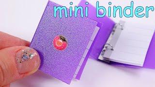 DIY Miniature Binder