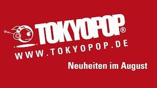 Manga Neuheiten im August | TOKYOPOP