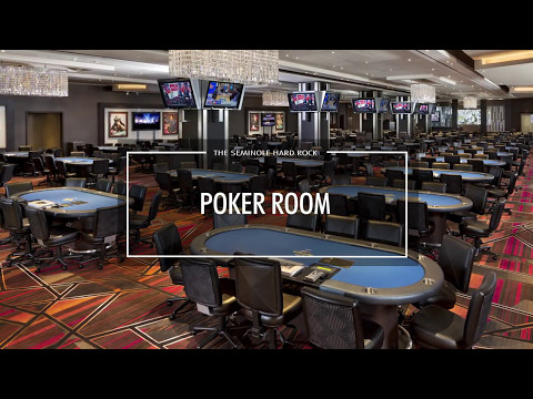 Seminole Hard Rock Tampa Poker Room