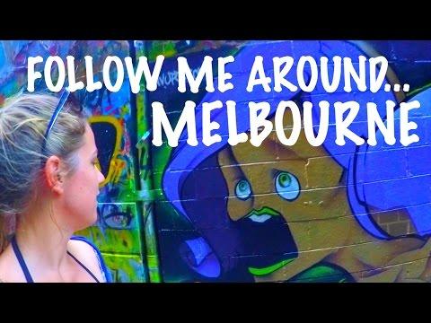 FOLLOW ME AROUND MELBOURNE, AUSTRALIA