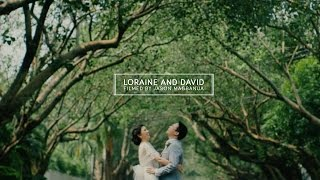Loraine and David:  A Wedding in Santuario de San Antonio