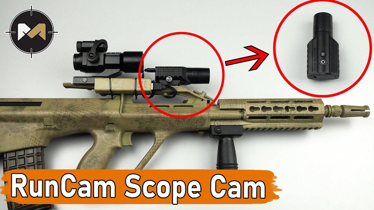 RunСam Scope Cam 4K/Lite. Обзор камеры для страйкбола