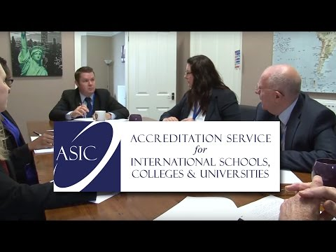 ASIC - The Accreditation Service for International Schools, Colleges and Universities