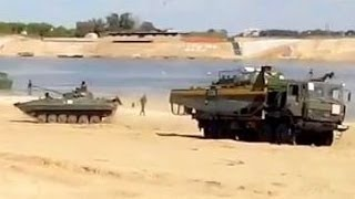 Ukraine war: Russia military learning river forcing tanks and …