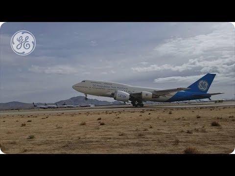 GE9X engine soars