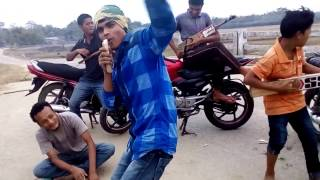 New Assamese Funny Song , Bhaskar Nilim,s Rock Bihu