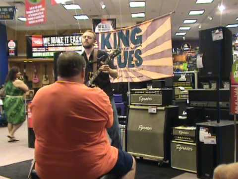 Brian Jeffrey plays for King of the Blues 2010 in Durham, NC Guitar Center