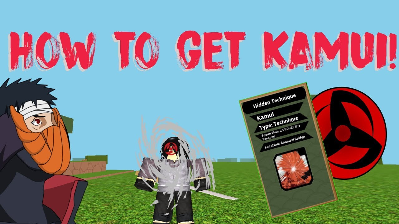 ROBLOX BEYOND NRPG | HOW TO GET KAMUI!