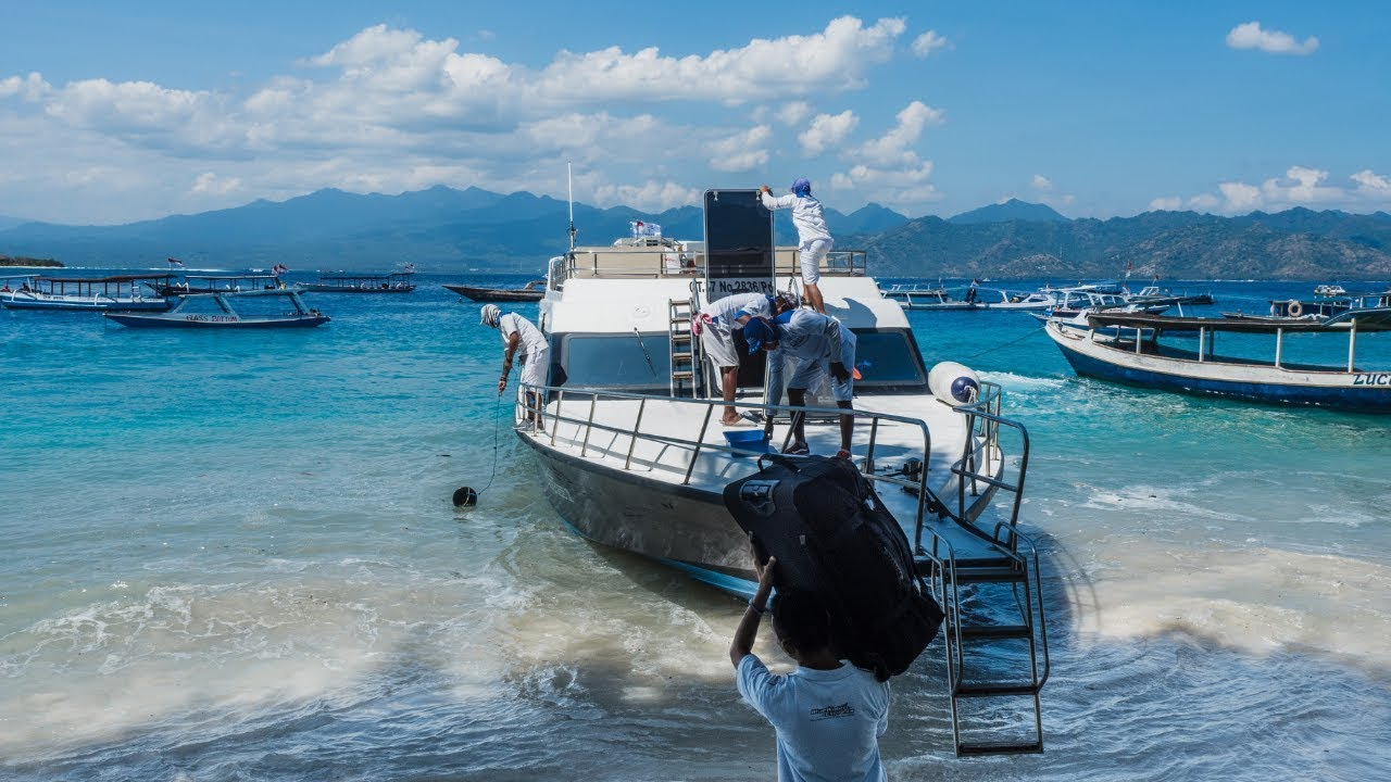 How To Get To The Gili Islands From Bali Indonesia + Video