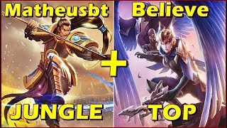 EM BUSCA DO CHALLENGER PERDIDO! XIN ZHAO DUO QUINN GAMEPLAY - MatheusBT feat Believe