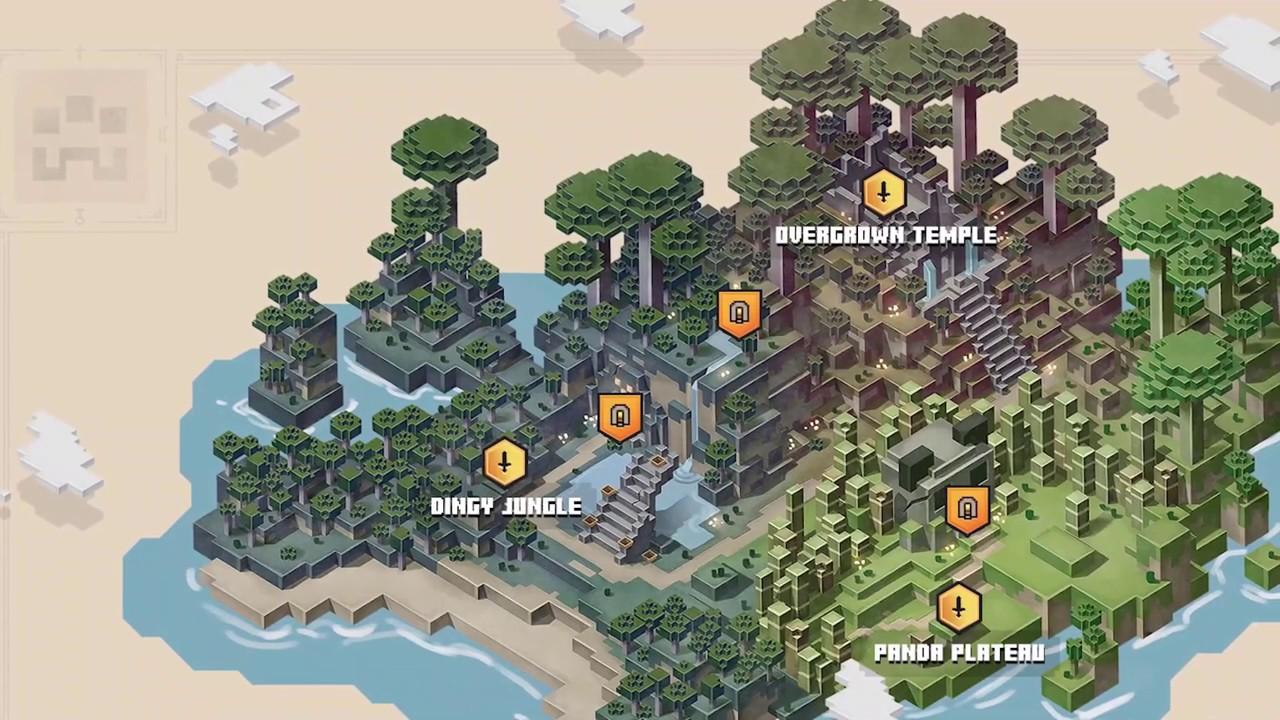 Minecraft Dungeons: Jungle Awakens Có Gì Mới