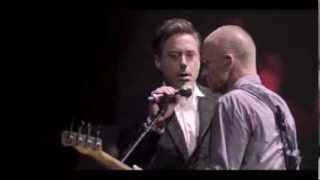 The Avenger's Stars Robert Downey Jr and Jeremy Renner Singing Live