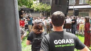 """Acto de recuerdo a Germán Rodríguez y contra la """"impunidad"""" 42 años después de los Sanfermines"""