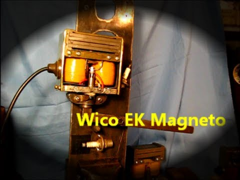 Wico EK Magneto Repair test stand / sparks 17of