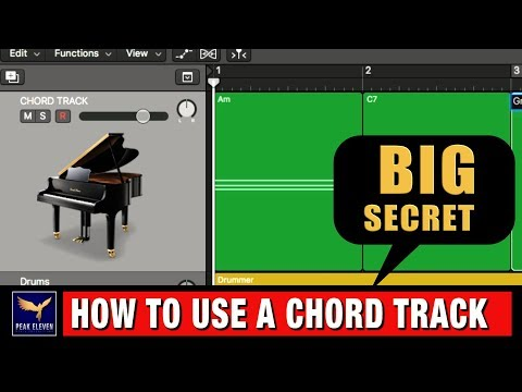 How to use a Chord Track when you Compose Music