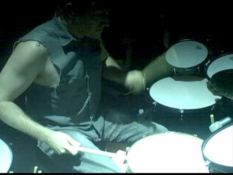 Josh Freese drumming