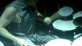"""Josh Freese drumming """"1,000,000"""" and """"Letting You"""" live with NIN"""