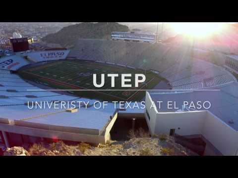 // University of Texas at El Paso // Aerial Cinematography //