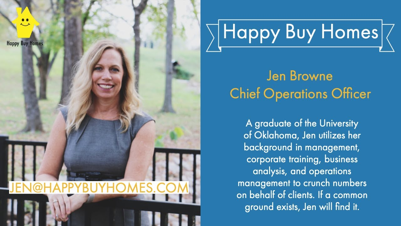 Sell My House Fast Dallas: Meet Jen From Happy Buy Homes