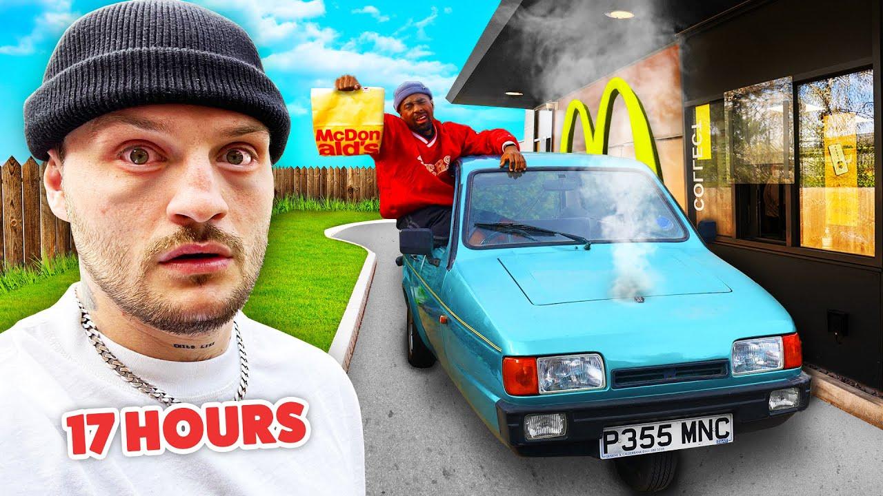 Download TGF Driving 100 Miles Through A McDonald's Drive-Thru