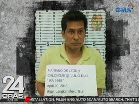 24 Oras: Julio Diaz, arestado dahil sa pagtutulak umano ng droga