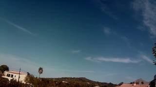 mallorca blue sky weather