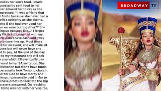 Lady Golfer Reveals Tonto Dikeh Used To Beg Her For Money
