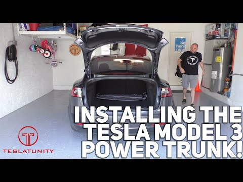 Model 3 Power Liftgate (Soft Closing)