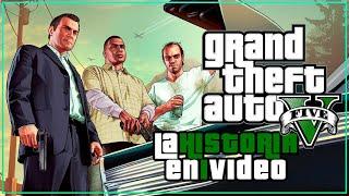 Grand Theft Auto V : La Historia en 1 Video (Resubido)