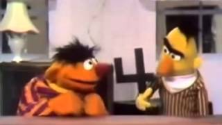Classic Sesame Street - Bert & Ernie: Bert explains the Number 4