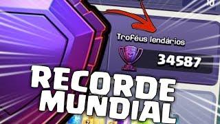 RECORDE MUNDIAL!! O MAIOR E MELHOR LENDÁRIO DO CLASH OF CLANS!!