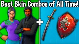 10 BEST SKIN COMBOS OF ALL TIME! (Fortnite Best Skin Combinations)