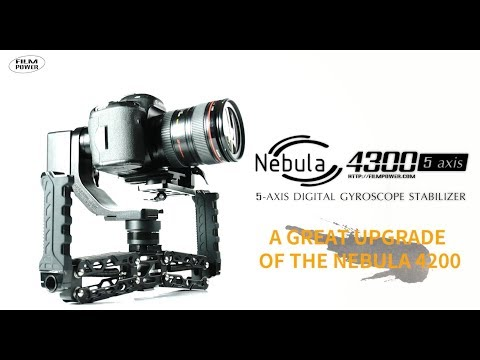 Nebula 4300 5-axis gimbal: a great upgrade of the Nebula 4200