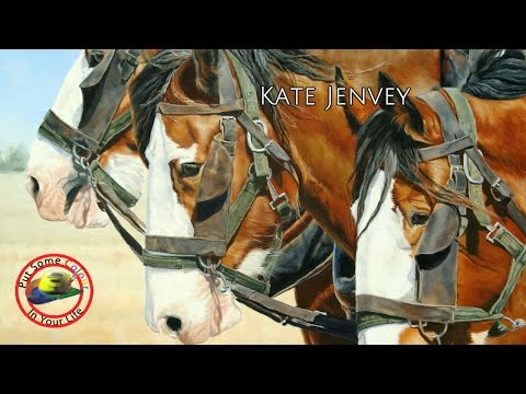 Fine Art tips on How to Draw Animals with Kate Jenvey-Ferguson on Colour In Your Life