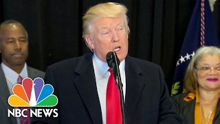 President Trump Calls Jewish Community Center Threats 'Horrible' And 'Painful' | NBC News
