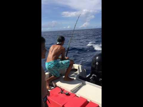 Fishing in Pohnpei Micronesia