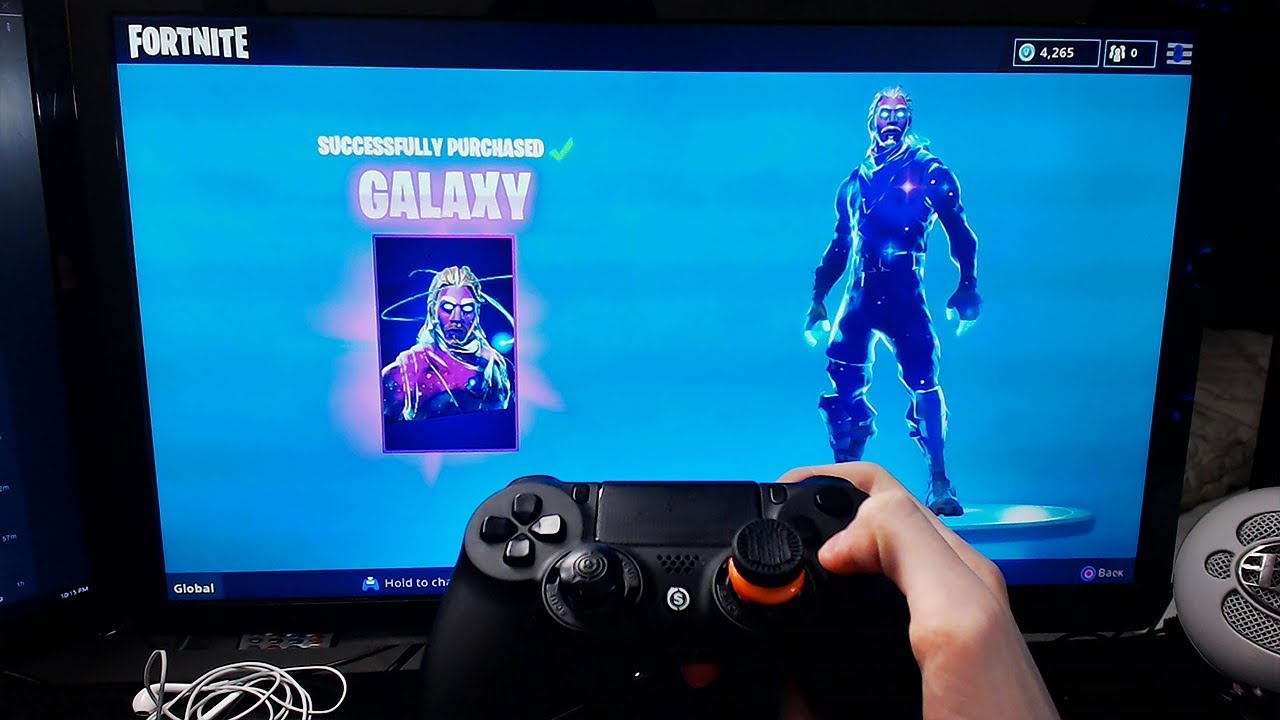 samsung fortnite skin