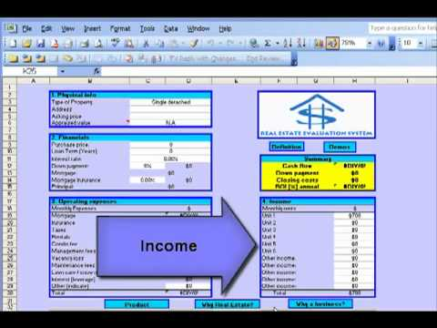 Real Estate Investment Evaluation System   Overview Presentation