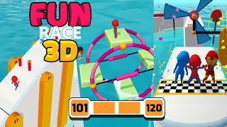 Fun Race 3D Level 101-120 Walkthrough