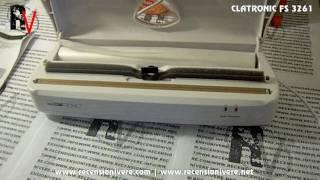 Sigilla sacchetti | bag sealer | Clatronic FS 3261 Review