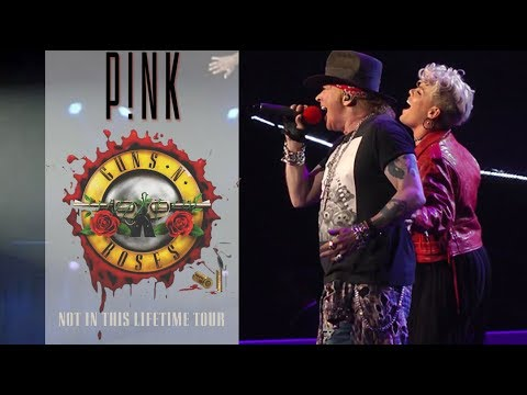 🔴 Guns N' Roses Feat PINK – Patience (2017) – FullHD 720p