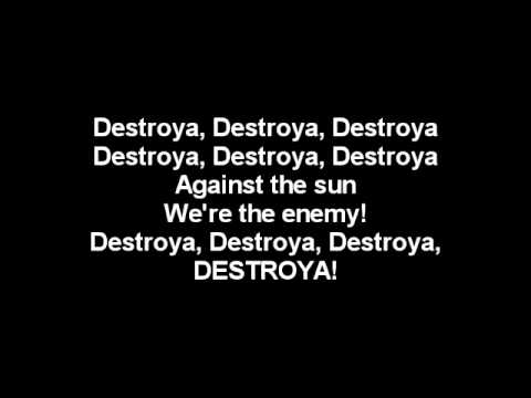 My Chemical Romance - Destroya Lyrics