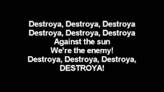 My Chemical Romance - Destroya Lyrics