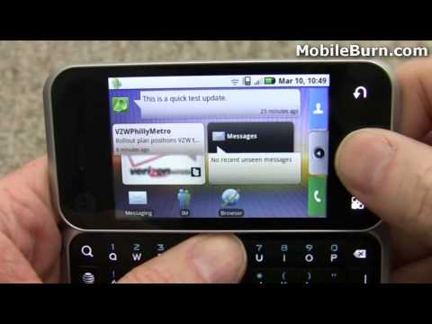 Motorola BACKFLIP for AT&T review - part 2 of 2