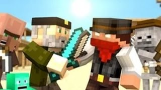 Miners In The Sun - Minecraft Animation