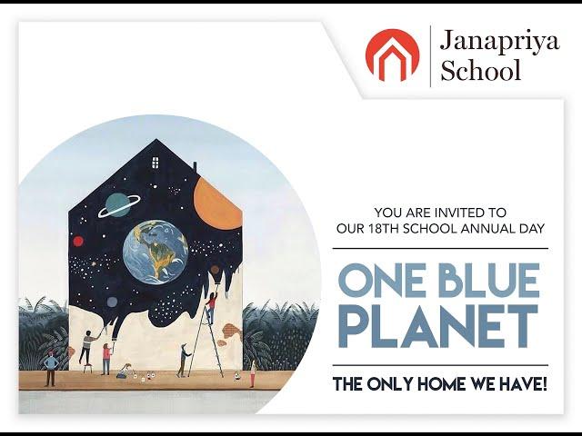 Janapriya School   18th Annual Day